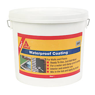 Sika Damp Proof And Water Proof Coating Grey 5kg For Wall And Floor Ebay