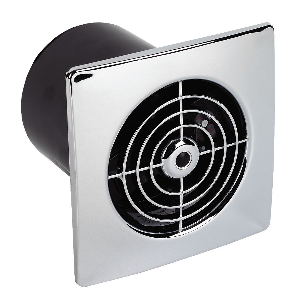 Wall Mounted Extractor Fan : New manrose lp st w ceiling wall mounted extractor