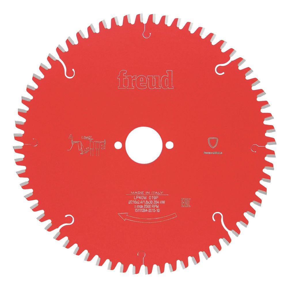 NEW Freud LP40M 019 TCT Circular Saw Blade 64-Tooth 216mm x 30mm Bore