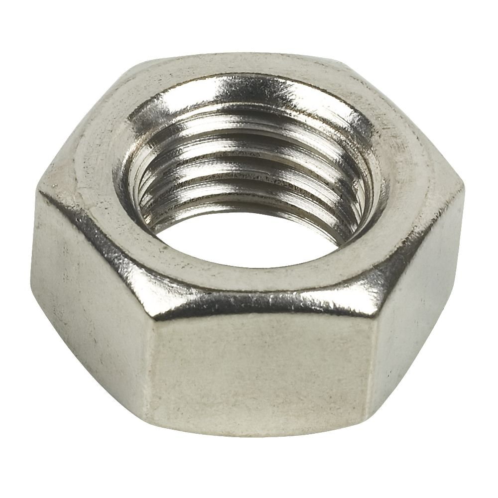 Hex nuts a stainless steel m pack of ebay