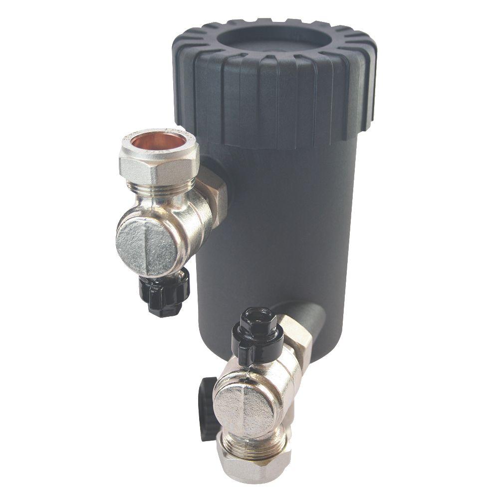 NEW Flomasta Magnetic Central Heating Filter 22mm   eBay