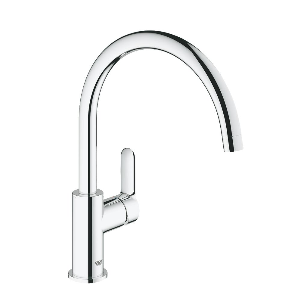 new grohe startedge monobloc mixer kitchen tap chrome ebay. Black Bedroom Furniture Sets. Home Design Ideas