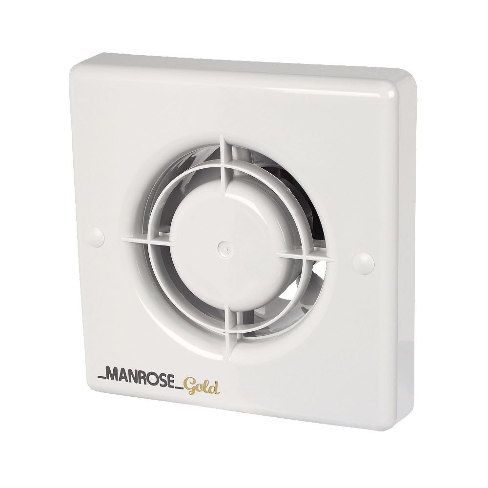 NEW Manrose MG100T 20W Gold Standard Axial Bathroom Extractor Fan W/Timer