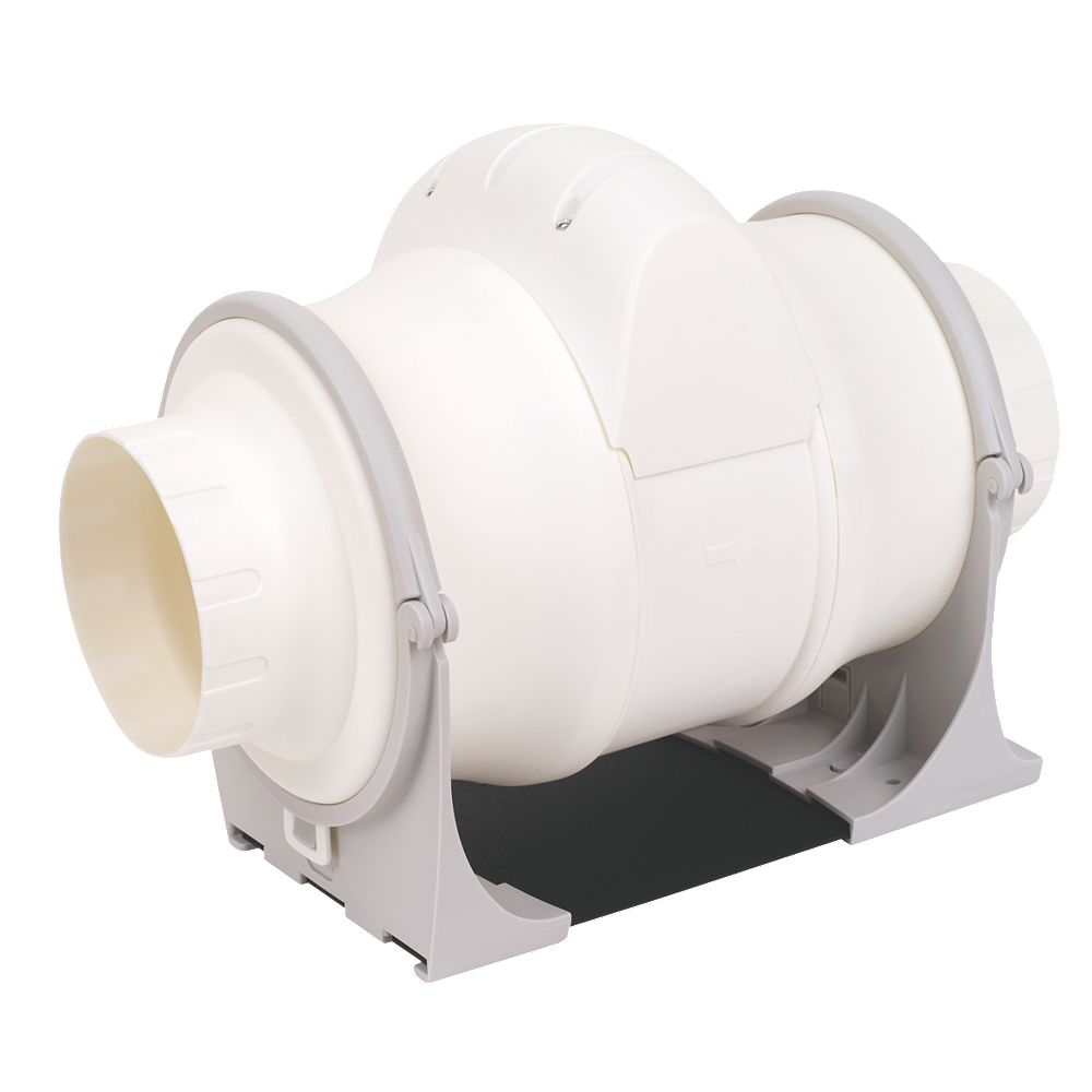 Xpelair Extractor Fans For Bathrooms: NEW Xpelair XIM100+ 25W In-Line Bathroom Extractor Fan