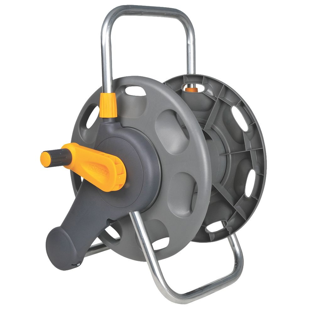 NEW Hozelock 2-in-1 Hose Reel 60m Capacity 60m
