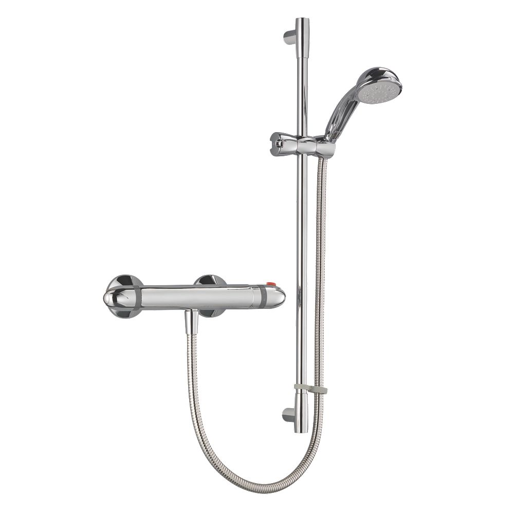 NEW Mira Coda EV 2 Thermostatic Mixer Shower Exposed Chrome | eBay