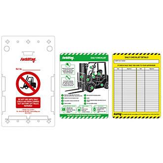Image of Scafftag Forklift Tag Kit