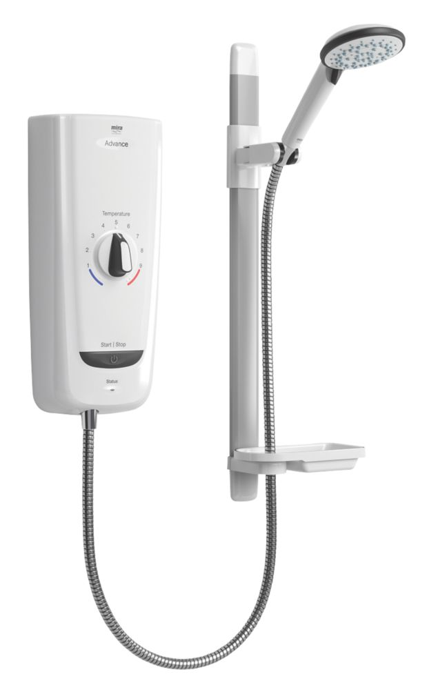 Image of Mira Advance White 8.7kW Thermostatic Electric Shower