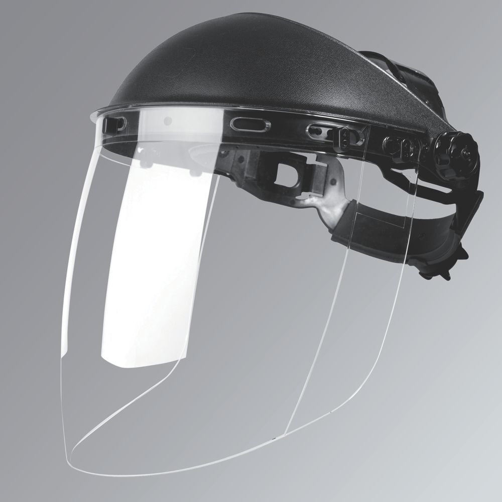 Image of Bolle Sphere Face Shield Black