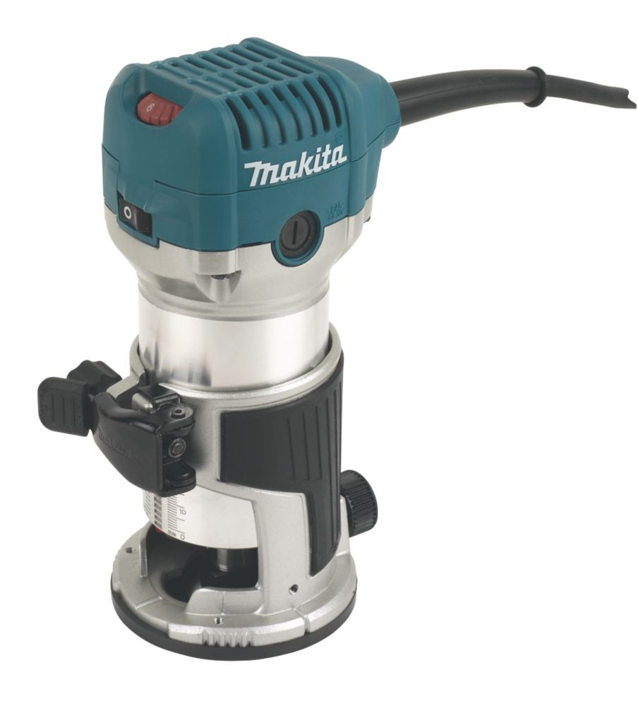 """Image of Makita RT0700CX4/1 710W """" Router Trimmer 110V"""