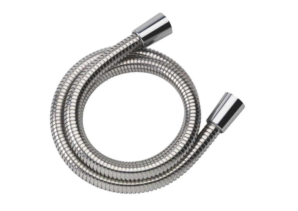 Image of Mira Logic Shower Hose Chrome 11mm x 1.25m