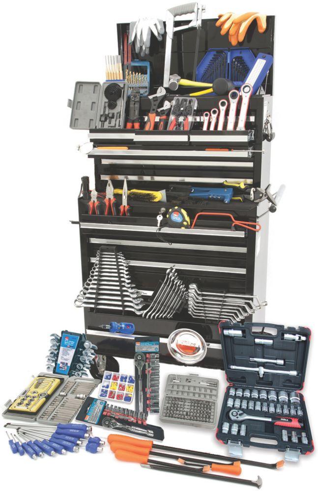 Image of Hilka Pro-Craft Professional Mechanic's Tool Kit 489 Piece Set