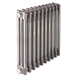 Image of Acova 3-Column Horizontal Designer Radiator 600 x 1226mm Raw Metal