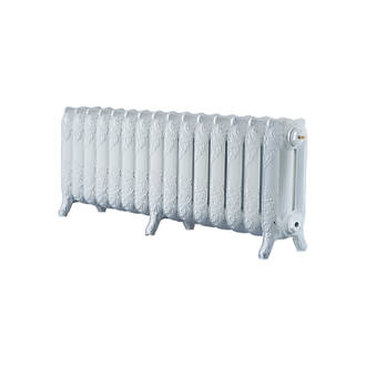 Image of Arroll 3-Column Cast Iron Radiator 470 x 1234mm White