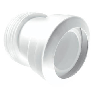 Image of McAlpine MACFIT MAC-7A WC Pan Connector White 110mm