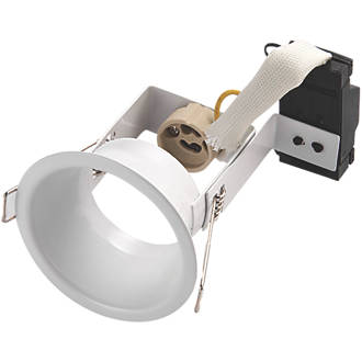 Image of Saxby Peake Fixed Downlight White 220-240V