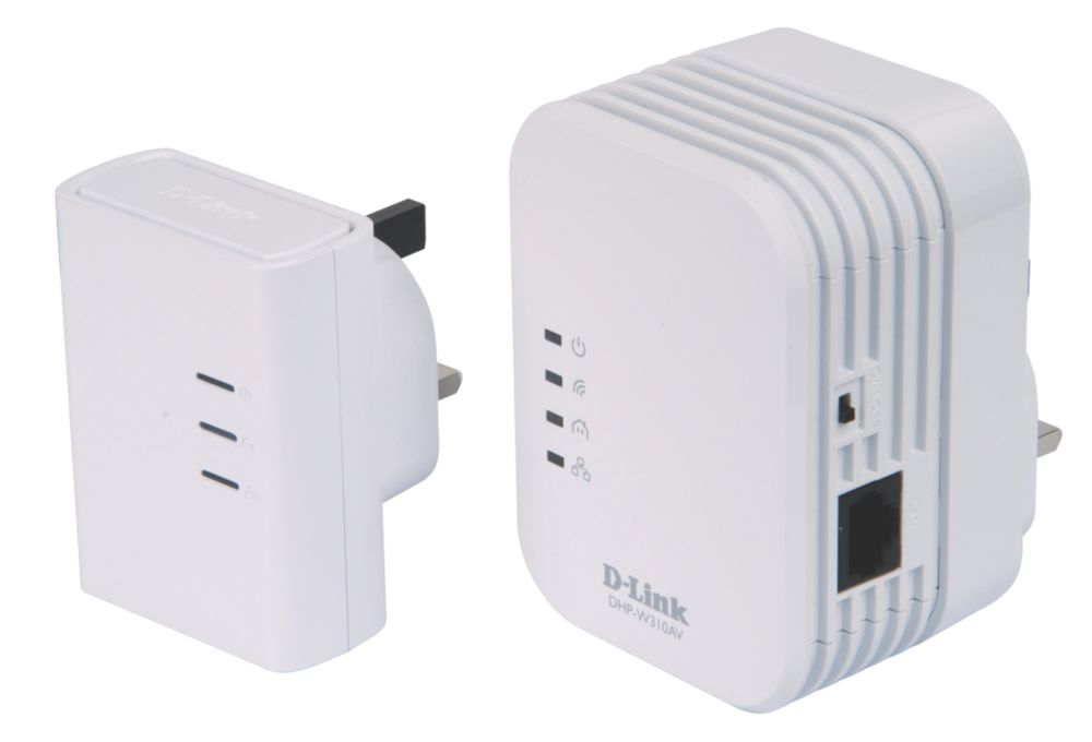 Image of D-Link PowerLine AV 500 Wi-Fi Adaptor Networking Kit