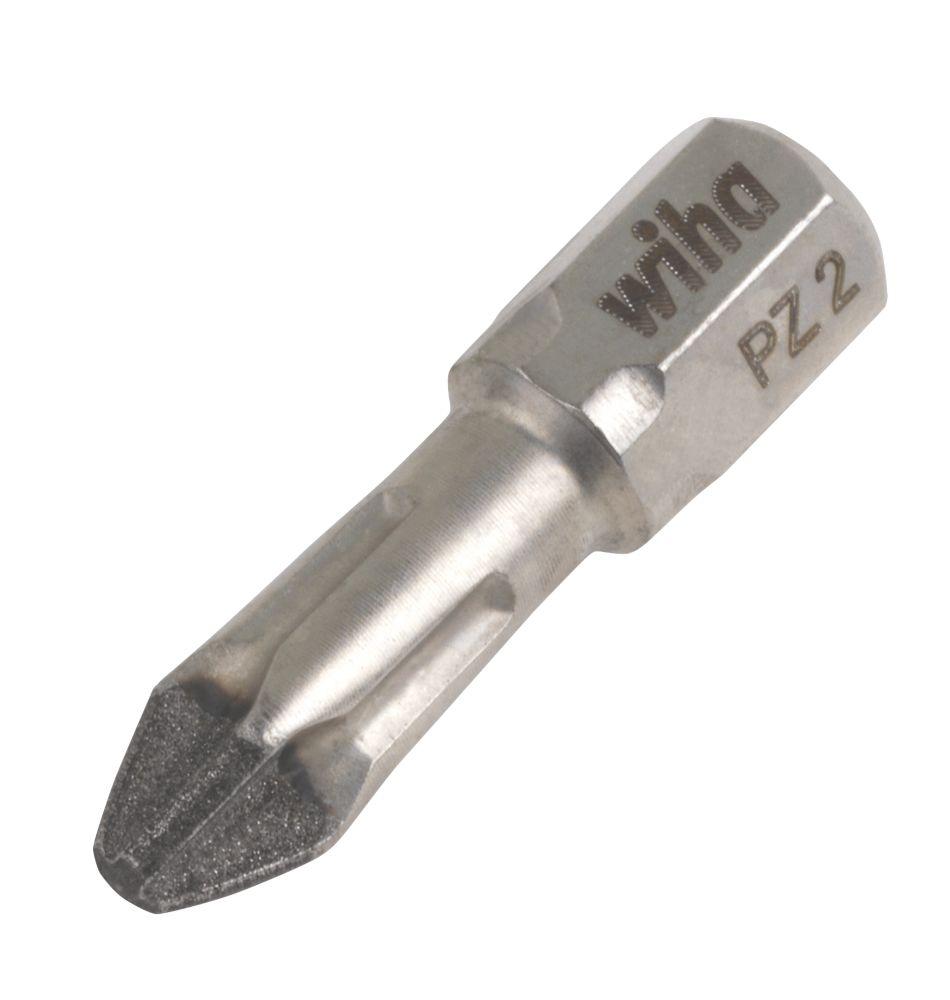 Image of Wiha Diamond Torsion Screwdriver Bit Pz2 x 25mm