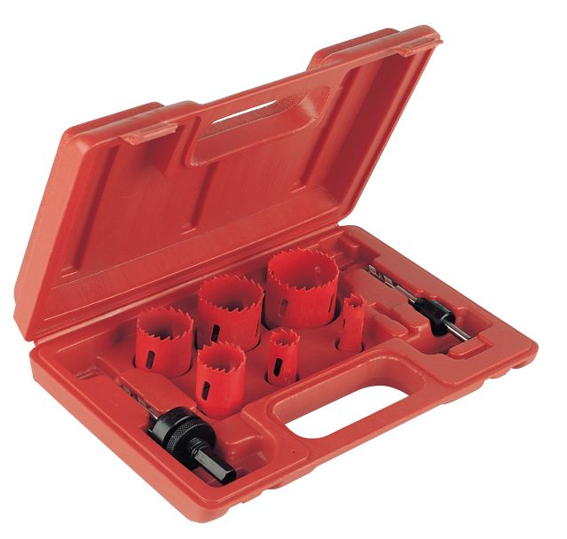 Image of Plumbers Holesaw Set 8 Pieces