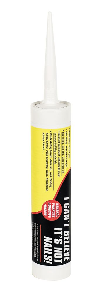 Image of I Can't Believe It's Not Nails Solvented Grab Adhesive 350ml