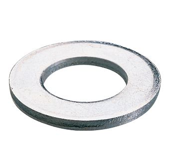 Image of Easyfix Flat Washers BZP M8 100 Pack