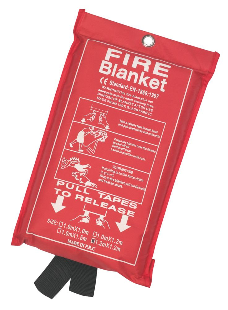 Image of Fire Blanket 1.2 x 1.2m
