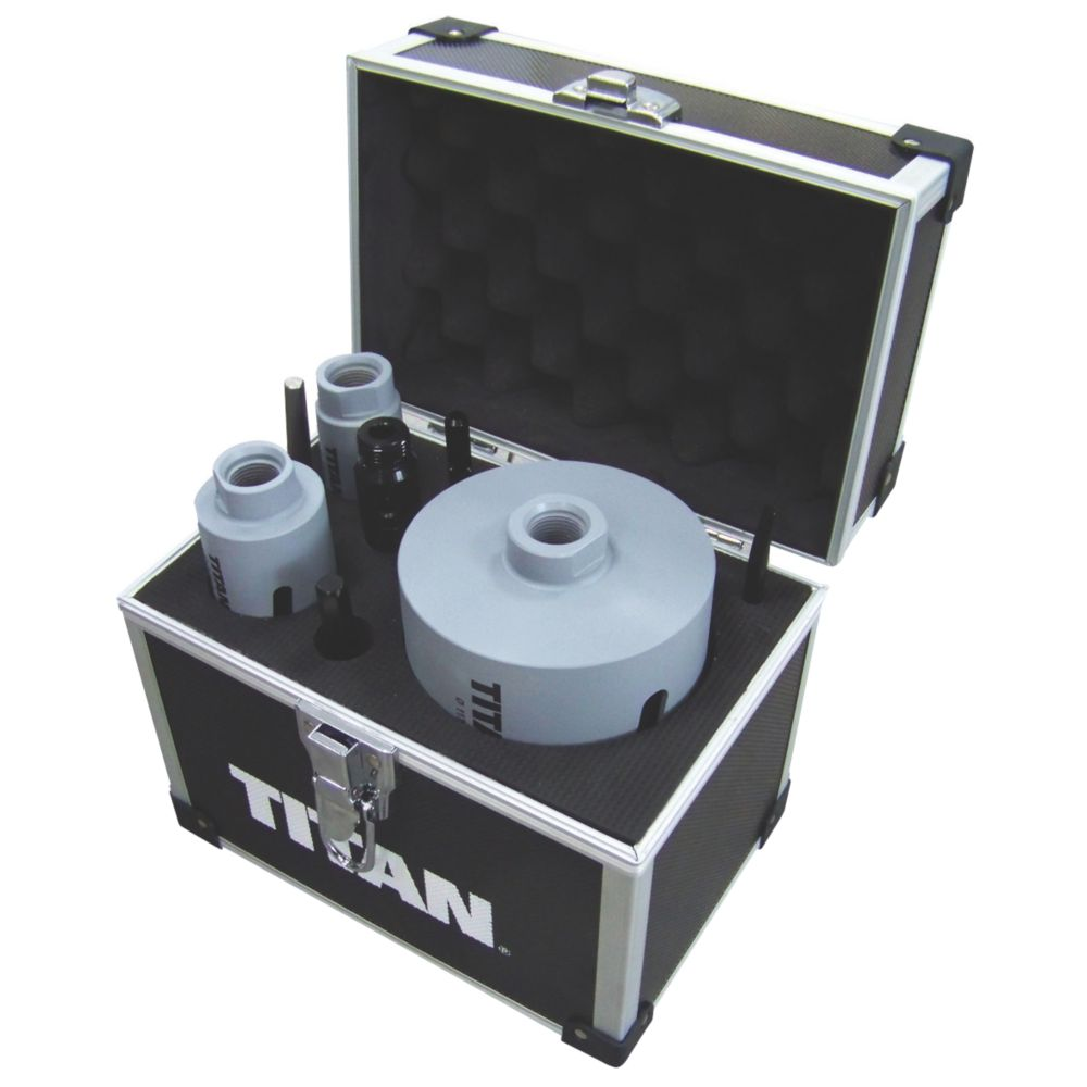 Image of Titan Diamond Core Drill 8 Piece Set