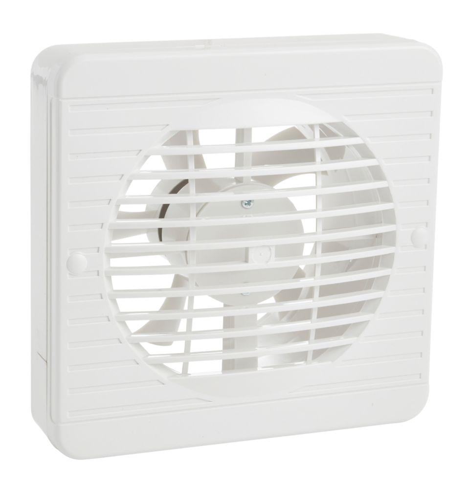 "Image of Manrose XF150BS 25W 6"" Ceiling / Wall-Mounted Kitchen Fan"