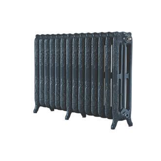 Image of Arroll 3-Column Cast Iron Radiator 760 x 1154mm Anthracite