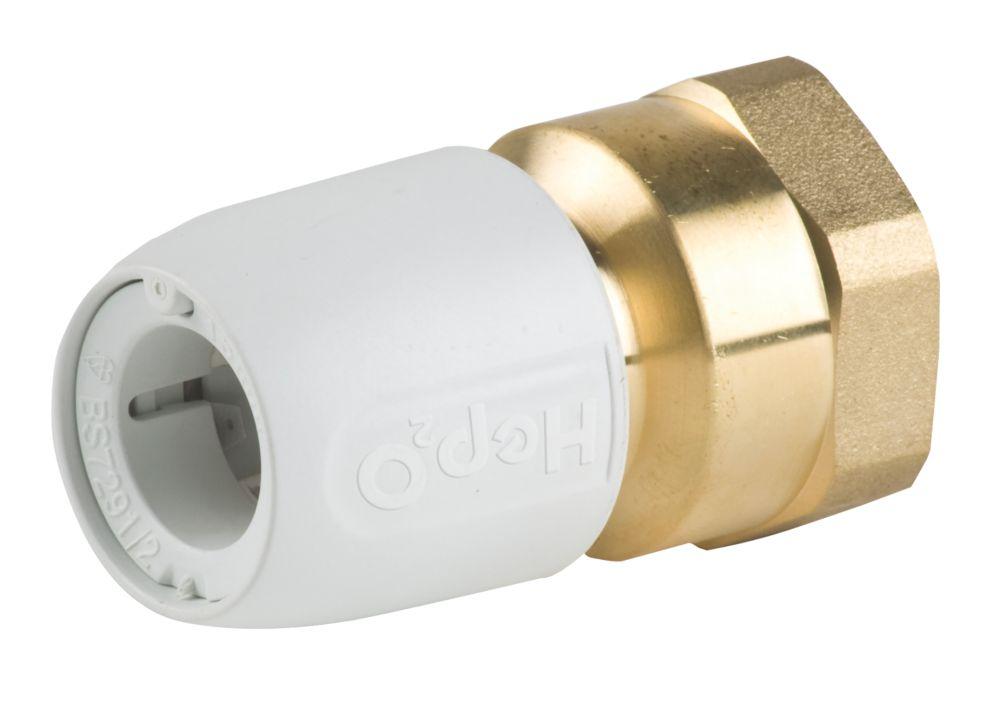 "Image of Hep2O HX28/15WS Adapt Brass Female Socket """" x 15mm"