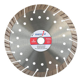 Image of Marcrist Concrete/Stone Segmented Diamond Blade 230 x 22.2mm