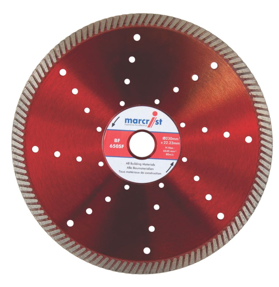 Image of Marcrist BF650SF Turbo Diamond Blade 230 x 22.2mm