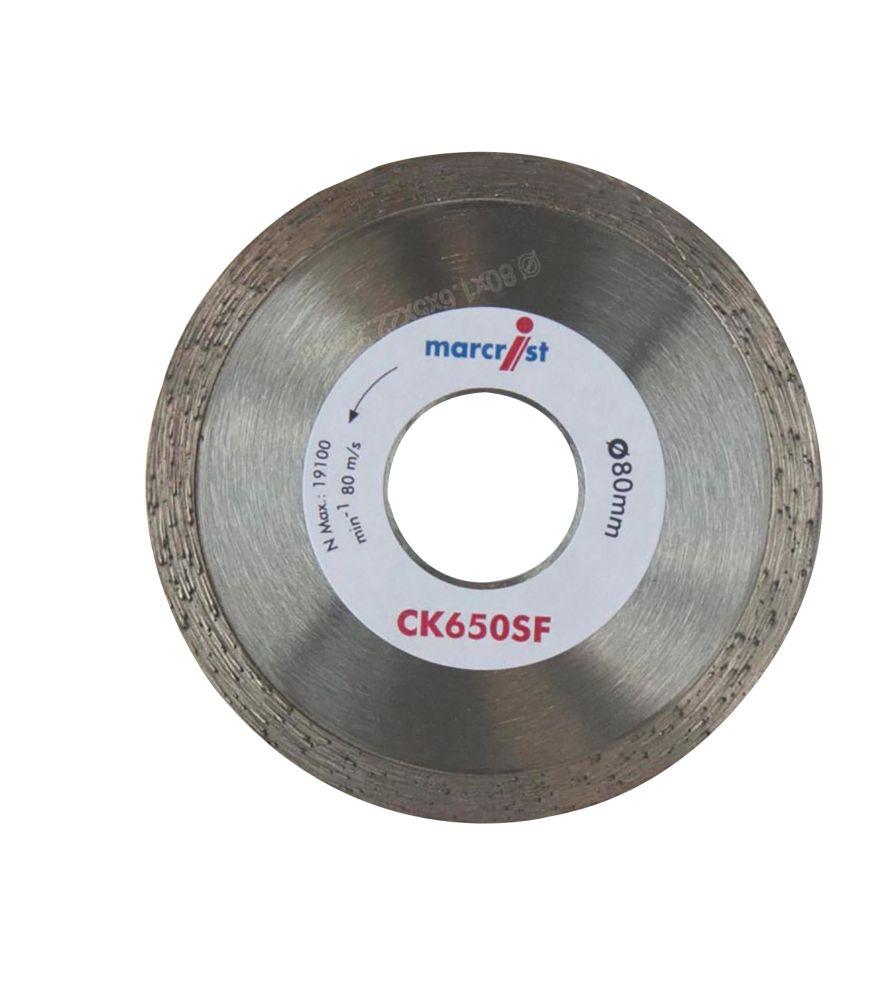 Image of Marcrist CK650SF Diamond Tile Blade 80 x 22.2mm