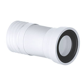 Image of Viva Slinky-Fit WC Pan Connector White 110mm