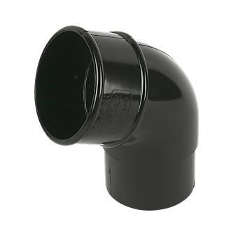 Image of FloPlast 112.5° Offset Bend 68mm Black