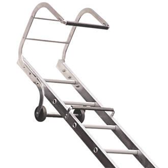 Image of Lyte 1-Section Aluminium Roof Ladder 4.97m