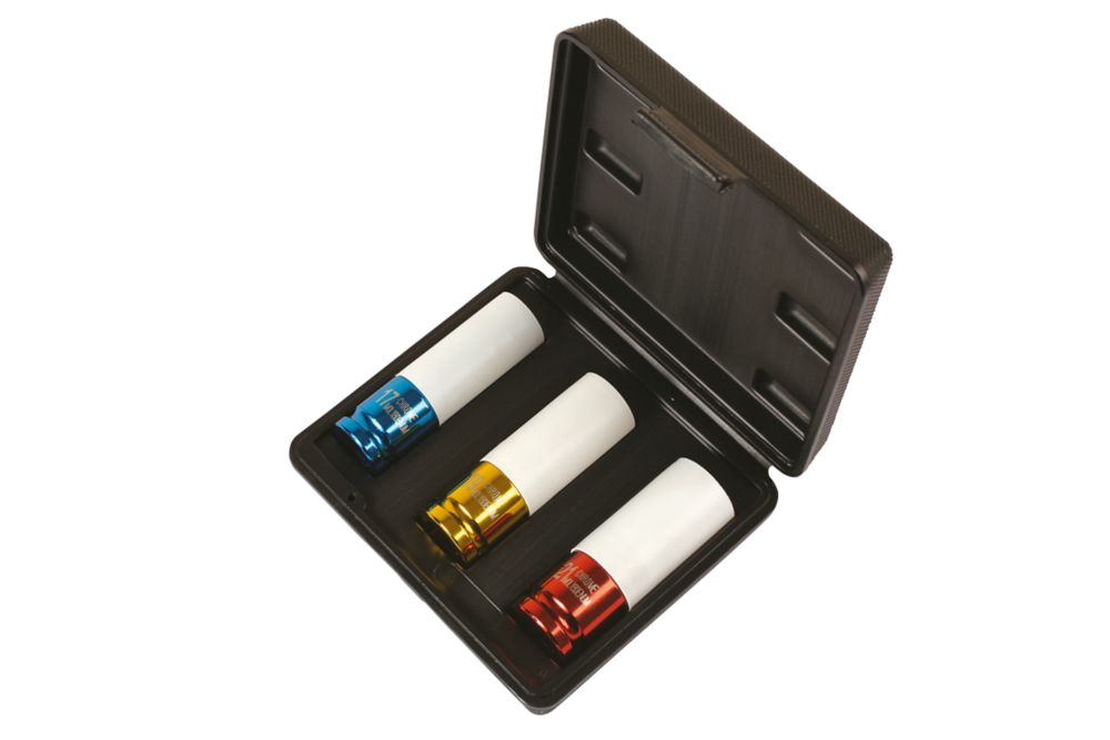 Image of Laser Alloy Wheel Nut Sockets 3 Pcs