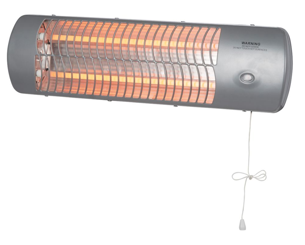 Image of MH-10-1 Wall-Mounted Quartz Heater 600 / 1200W