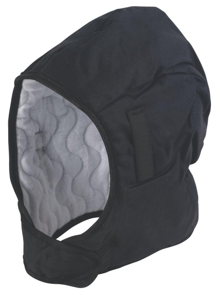 Image of Portwest Winter Helmet Liner Black
