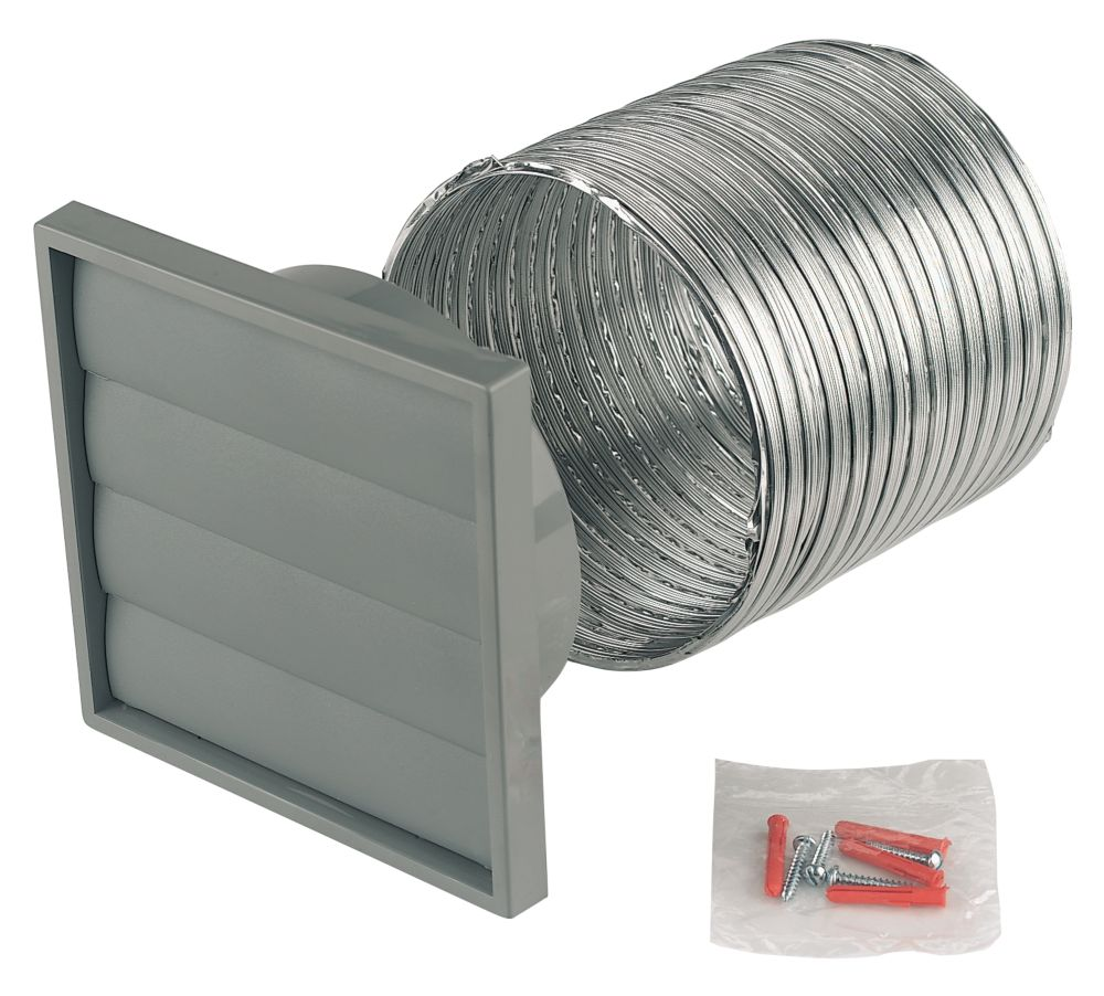 Image of Manrose 1280 Extractor Fan Wall Fixing Kit 150mm