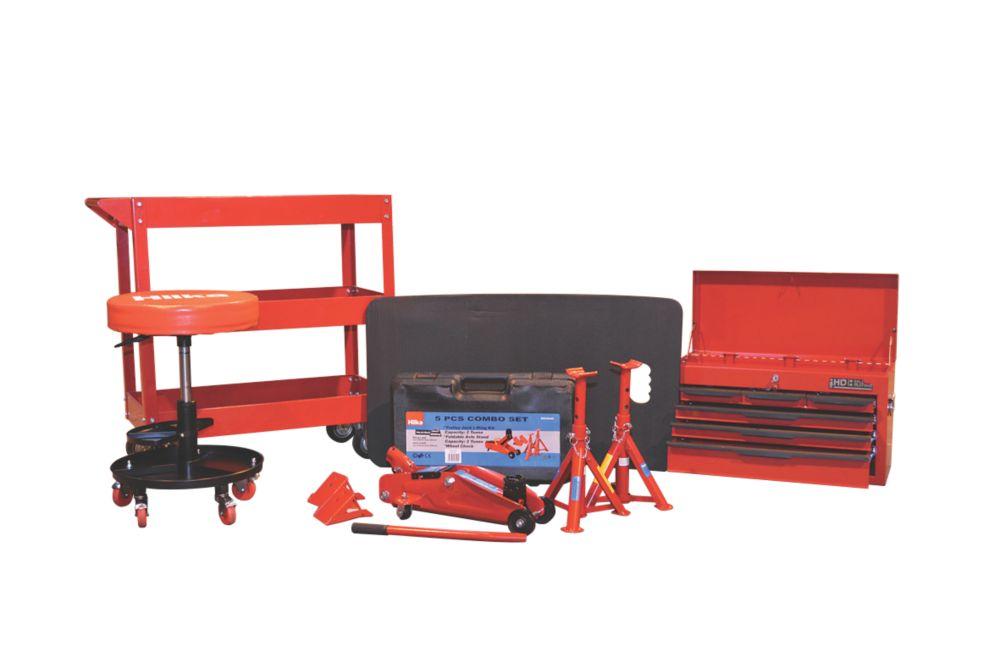 Image of Hilka Pro-Craft Workshop Starter Kit 5 Pieces
