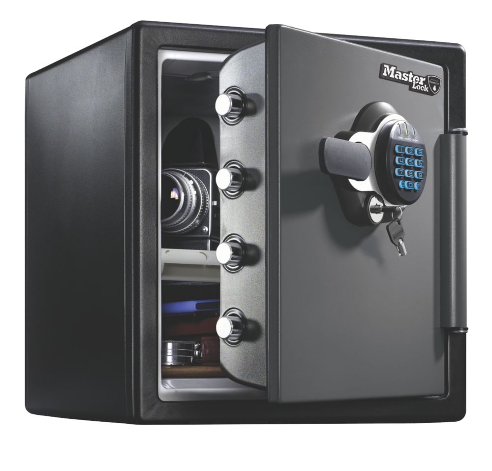 Image of Master Lock Electronic Water-Resistant 2-Hour Fire Safe 34.8Ltr