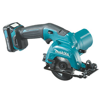 Image of Makita HS301DWAE 85mm 10.8V 2.0Ah Li-Ion CXT Cordless Circular Saw