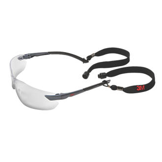 Image of 3M 2820 Classic Clear Lens Safety Specs