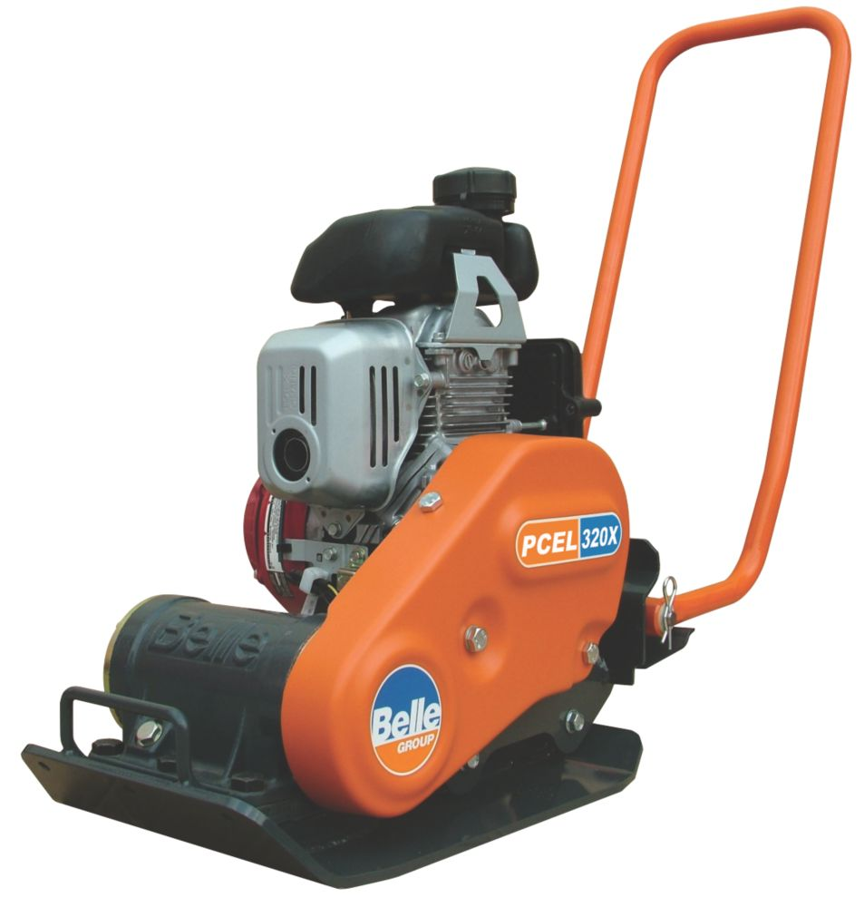 Image of Belle Group PCEL 320X Honda 3hp Petrol Powered Compaction Plate 720 x 320mm
