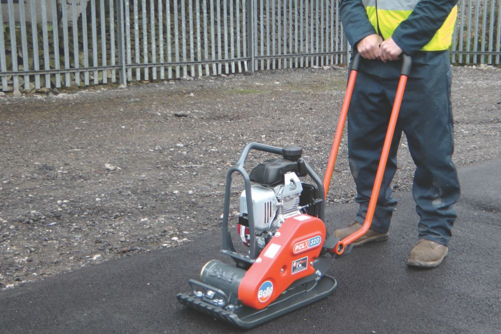 Image of Belle Group PCLX 320 Honda 3hp Petrol Powered Compaction Plate 574 x 320mm