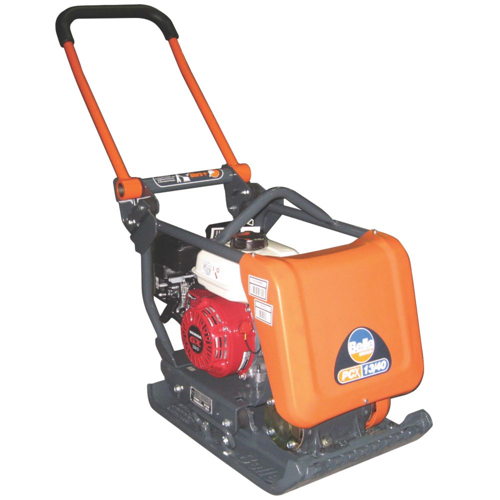 Image of Belle Group PCX 13/40 Honda 4hp Petrol Powered Compaction Plate 720 x 400mm
