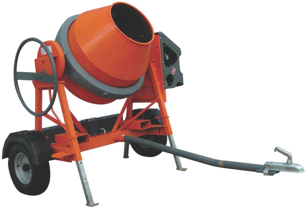 Image of Belle Group Hatz AT 350 Diesel 4.8hp Road Tow Mixer