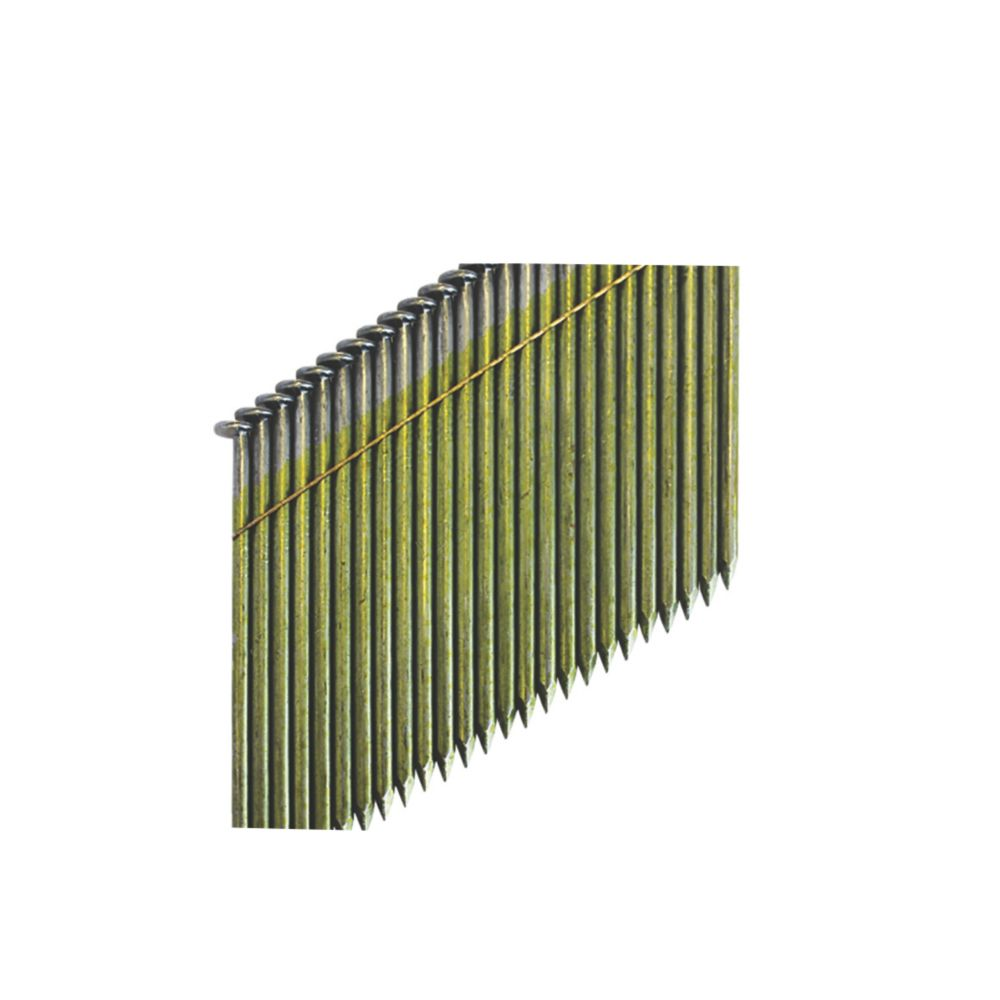 Image of DeWalt Bright Collated Framing Stick Nails 2.8 x 75mm 2200 Pack