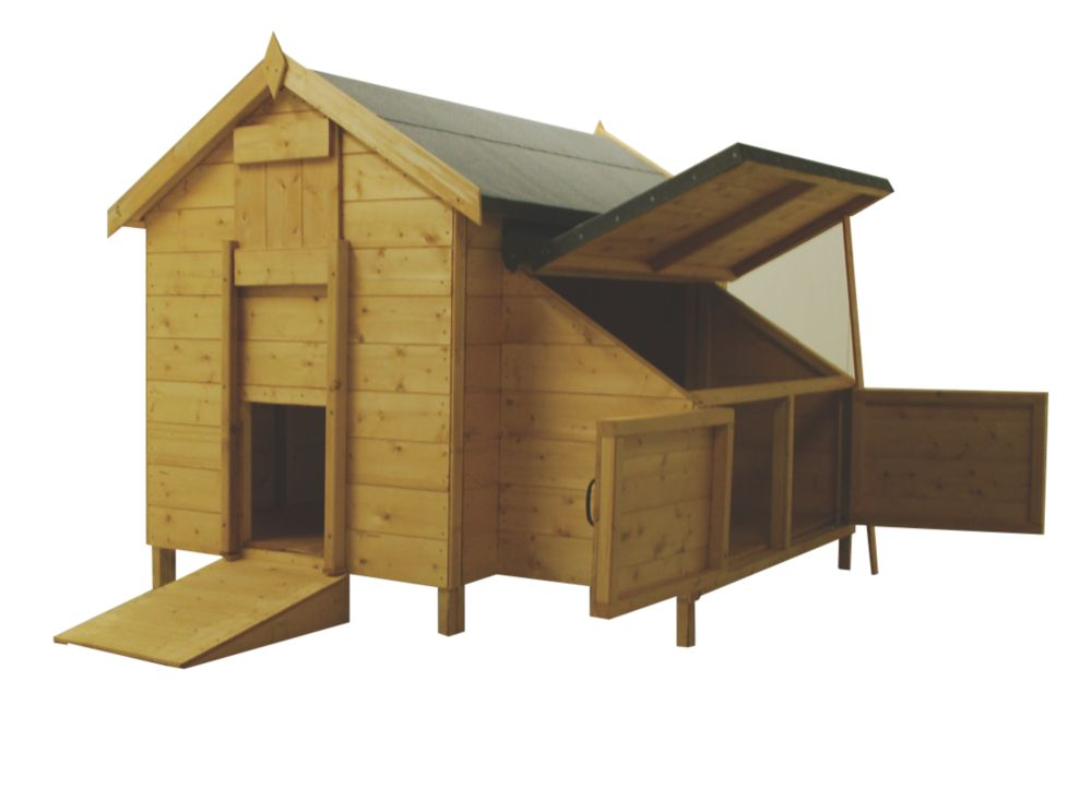 Image of Shire Timber Chicken Coop 1390 x 830 x 1190mm